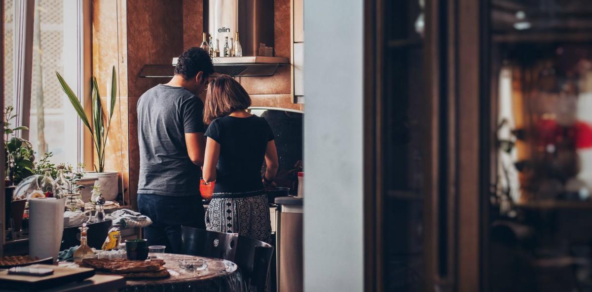 coppie crisi cucina