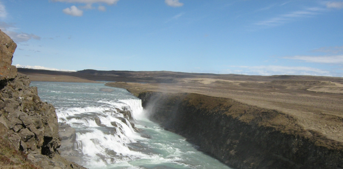 diritto paura cascata landscape