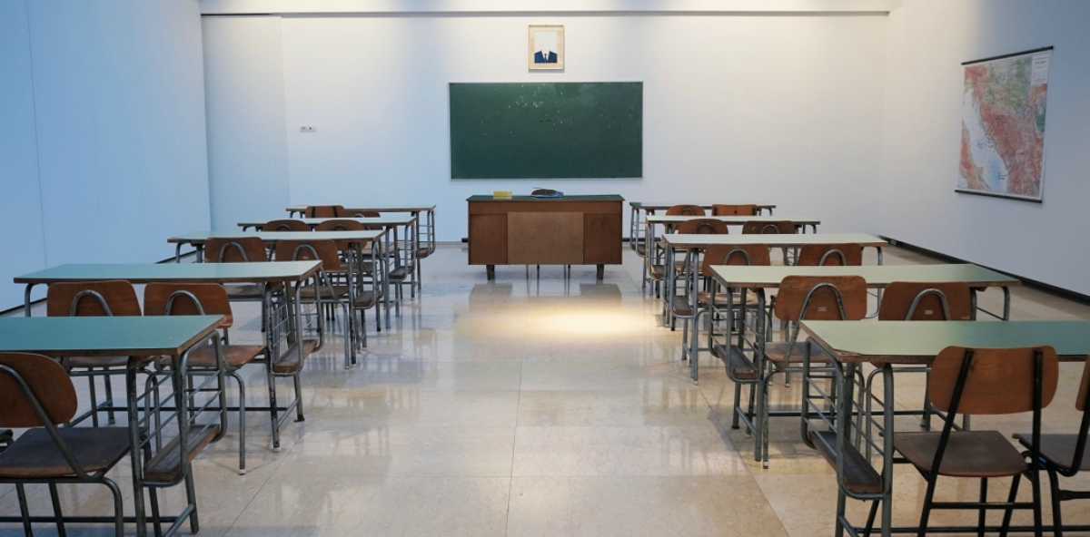 aula vuota alunni dopo lockdown